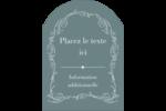 Cachet français Étiquettes rectangulaires - gabarit prédéfini. <br/>Utilisez notre logiciel Avery Design & Print Online pour personnaliser facilement la conception.