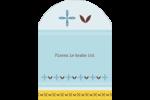 Bain bleu Étiquettes rectangulaires - gabarit prédéfini. <br/>Utilisez notre logiciel Avery Design & Print Online pour personnaliser facilement la conception.