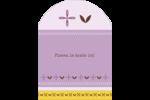 Lavande géométrique Étiquettes rectangulaires - gabarit prédéfini. <br/>Utilisez notre logiciel Avery Design & Print Online pour personnaliser facilement la conception.