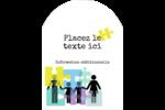 Counseling en éducation Étiquettes rectangulaires - gabarit prédéfini. <br/>Utilisez notre logiciel Avery Design & Print Online pour personnaliser facilement la conception.