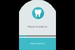 Dent Étiquettes rectangulaires - gabarit prédéfini. <br/>Utilisez notre logiciel Avery Design & Print Online pour personnaliser facilement la conception.