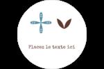 Bain bleu Étiquettes arrondies - gabarit prédéfini. <br/>Utilisez notre logiciel Avery Design & Print Online pour personnaliser facilement la conception.