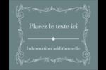Cachet français Étiquettes rondes gaufrées - gabarit prédéfini. <br/>Utilisez notre logiciel Avery Design & Print Online pour personnaliser facilement la conception.