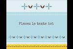Bain bleu Étiquettes rondes gaufrées - gabarit prédéfini. <br/>Utilisez notre logiciel Avery Design & Print Online pour personnaliser facilement la conception.