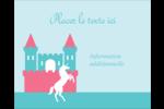Château Étiquettes rondes gaufrées - gabarit prédéfini. <br/>Utilisez notre logiciel Avery Design & Print Online pour personnaliser facilement la conception.