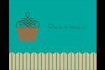Petit gâteau Étiquettes rondes gaufrées - gabarit prédéfini. <br/>Utilisez notre logiciel Avery Design & Print Online pour personnaliser facilement la conception.