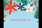 Plantes tropicales Étiquettes rondes gaufrées - gabarit prédéfini. <br/>Utilisez notre logiciel Avery Design & Print Online pour personnaliser facilement la conception.