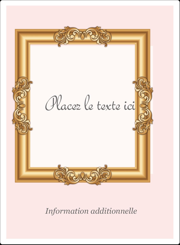 """2½"""" Diameter Étiquettes rondes - Galerie d'art"""