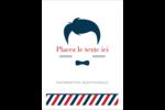 Salon de barbier Étiquettes rondes - gabarit prédéfini. <br/>Utilisez notre logiciel Avery Design & Print Online pour personnaliser facilement la conception.