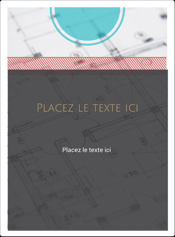 """2½"""" Diameter Étiquettes rondes - Architecture"""