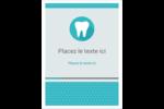 Dent Étiquettes rondes - gabarit prédéfini. <br/>Utilisez notre logiciel Avery Design & Print Online pour personnaliser facilement la conception.