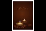 Lumières Divali Étiquettes rondes - gabarit prédéfini. <br/>Utilisez notre logiciel Avery Design & Print Online pour personnaliser facilement la conception.