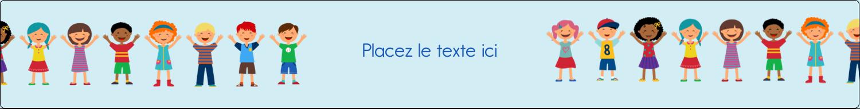 """1½"""" x 2½"""" Étiquettes ovales - Éducation des enfants"""