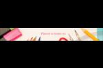 Enseignement primaire Étiquettes ovales - gabarit prédéfini. <br/>Utilisez notre logiciel Avery Design & Print Online pour personnaliser facilement la conception.