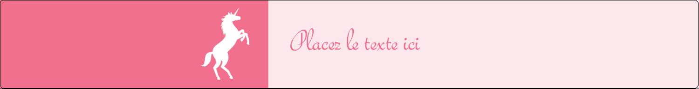 """1½"""" x 2½"""" Étiquettes ovales - Château"""