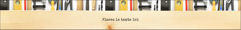 """1½"""" x 2½"""" Étiquettes ovales - Menuiserie"""