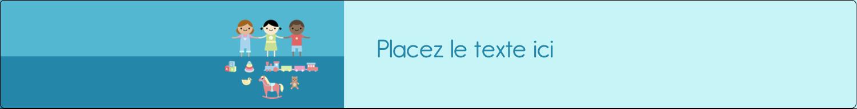 """1½"""" x 2½"""" Étiquettes ovales - Éducation et préscolaire"""