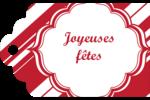Motif de canne de bonbon Étiquettes imprimables - gabarit prédéfini. <br/>Utilisez notre logiciel Avery Design & Print Online pour personnaliser facilement la conception.