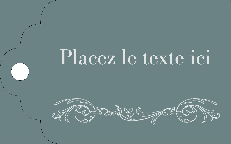 """2"""" x 1⅛"""" Étiquettes imprimables - Cachet français"""