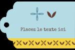 Bain bleu Étiquettes imprimables - gabarit prédéfini. <br/>Utilisez notre logiciel Avery Design & Print Online pour personnaliser facilement la conception.