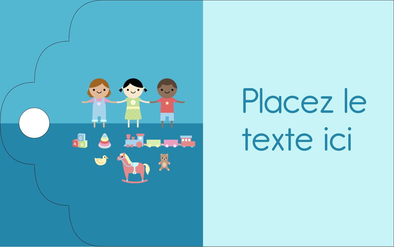 """2"""" x 1⅛"""" Étiquettes imprimables - Éducation et préscolaire"""