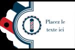 Enseigne de barbier audacieuse Étiquettes imprimables - gabarit prédéfini. <br/>Utilisez notre logiciel Avery Design & Print Online pour personnaliser facilement la conception.