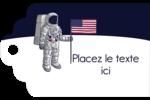 Astronaute Étiquettes imprimables - gabarit prédéfini. <br/>Utilisez notre logiciel Avery Design & Print Online pour personnaliser facilement la conception.