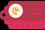 Nouvel An chinois avec biscuit Étiquettes imprimables - gabarit prédéfini. <br/>Utilisez notre logiciel Avery Design & Print Online pour personnaliser facilement la conception.