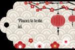 Nouvel An chinois Étiquettes imprimables - gabarit prédéfini. <br/>Utilisez notre logiciel Avery Design & Print Online pour personnaliser facilement la conception.