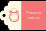 Horloges Étiquettes imprimables - gabarit prédéfini. <br/>Utilisez notre logiciel Avery Design & Print Online pour personnaliser facilement la conception.