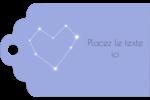 Étoiles d'anniversaire Étiquettes imprimables - gabarit prédéfini. <br/>Utilisez notre logiciel Avery Design & Print Online pour personnaliser facilement la conception.