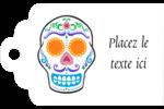 Le jour du Crâne Étiquettes imprimables - gabarit prédéfini. <br/>Utilisez notre logiciel Avery Design & Print Online pour personnaliser facilement la conception.