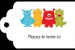 Monstres mignons Étiquettes imprimables - gabarit prédéfini. <br/>Utilisez notre logiciel Avery Design & Print Online pour personnaliser facilement la conception.