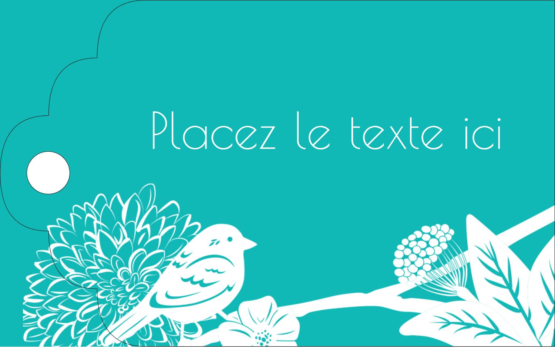 """2"""" x 1⅛"""" Étiquettes imprimables - Signes du printemps"""