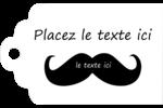 Moustache de bonbons Étiquettes imprimables - gabarit prédéfini. <br/>Utilisez notre logiciel Avery Design & Print Online pour personnaliser facilement la conception.