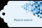 Angles bleus  Étiquettes imprimables - gabarit prédéfini. <br/>Utilisez notre logiciel Avery Design & Print Online pour personnaliser facilement la conception.