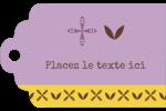 Lavande géométrique Étiquettes imprimables - gabarit prédéfini. <br/>Utilisez notre logiciel Avery Design & Print Online pour personnaliser facilement la conception.
