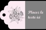 Bouquet de fleurs Étiquettes imprimables - gabarit prédéfini. <br/>Utilisez notre logiciel Avery Design & Print Online pour personnaliser facilement la conception.