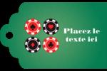 Partie de poker Étiquettes imprimables - gabarit prédéfini. <br/>Utilisez notre logiciel Avery Design & Print Online pour personnaliser facilement la conception.