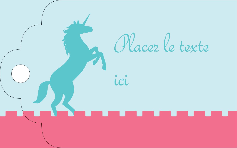 """2"""" x 1⅛"""" Étiquettes imprimables - Château"""
