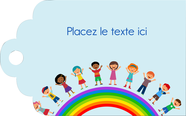 """2"""" x 1⅛"""" Étiquettes imprimables - Éducation des enfants"""
