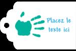 Mains enfantines Étiquettes imprimables - gabarit prédéfini. <br/>Utilisez notre logiciel Avery Design & Print Online pour personnaliser facilement la conception.