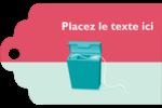 Soie dentaire Étiquettes imprimables - gabarit prédéfini. <br/>Utilisez notre logiciel Avery Design & Print Online pour personnaliser facilement la conception.