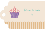 Petit gâteau Étiquettes imprimables - gabarit prédéfini. <br/>Utilisez notre logiciel Avery Design & Print Online pour personnaliser facilement la conception.