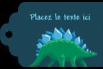 Dinosaure Étiquettes imprimables - gabarit prédéfini. <br/>Utilisez notre logiciel Avery Design & Print Online pour personnaliser facilement la conception.