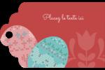 Tartan de Pâques Étiquettes imprimables - gabarit prédéfini. <br/>Utilisez notre logiciel Avery Design & Print Online pour personnaliser facilement la conception.