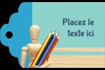 Enseignement des arts Étiquettes imprimables - gabarit prédéfini. <br/>Utilisez notre logiciel Avery Design & Print Online pour personnaliser facilement la conception.