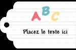 Enseignement préscolaire Étiquettes imprimables - gabarit prédéfini. <br/>Utilisez notre logiciel Avery Design & Print Online pour personnaliser facilement la conception.