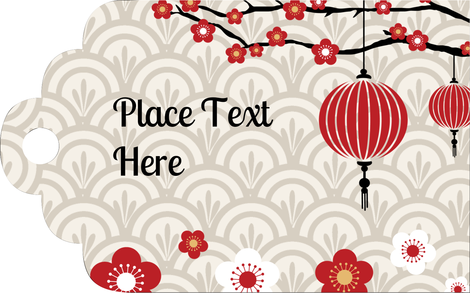 Printable Tags - Chinese New Year