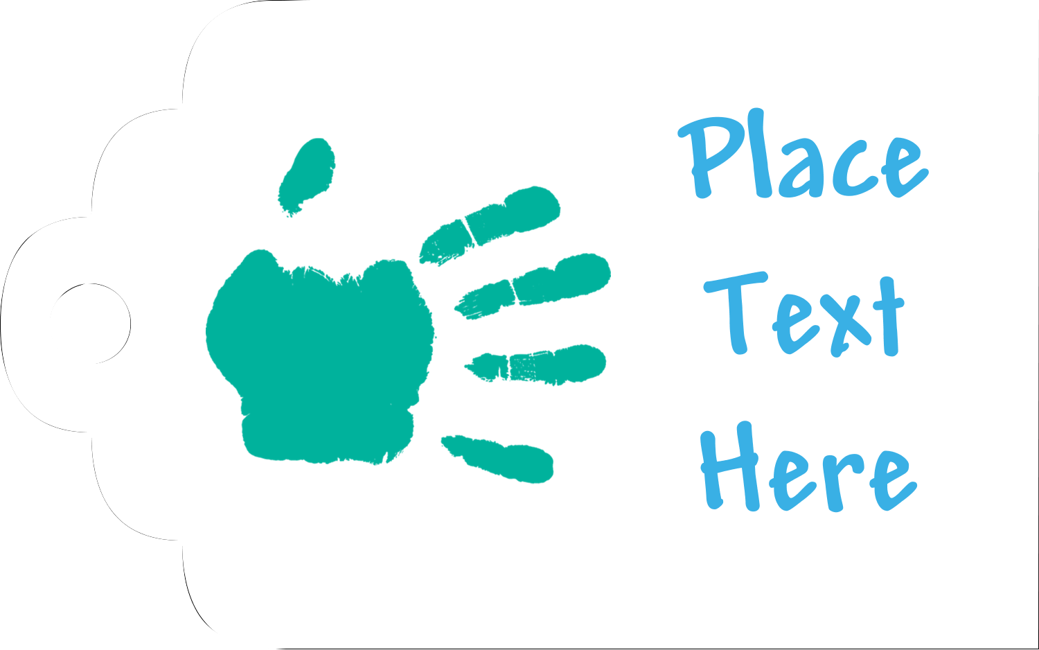 Printable Tags - Childcare Hands